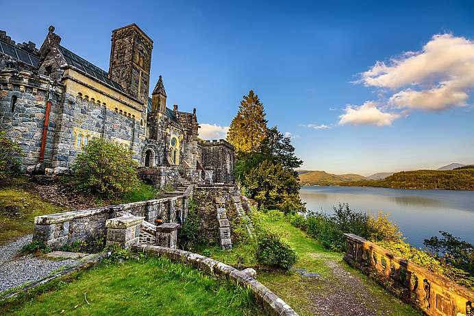 Crude mix or ingenious design: St Conan's at Loch Awe