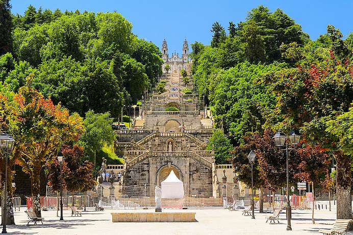 613 steps to a pilgrim church: Lamego
