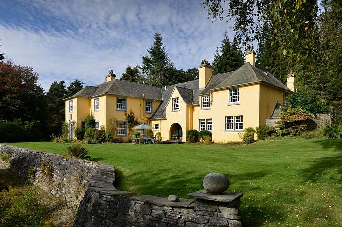 Ehemalige Privatresidenz: Country House bei Pitlochry