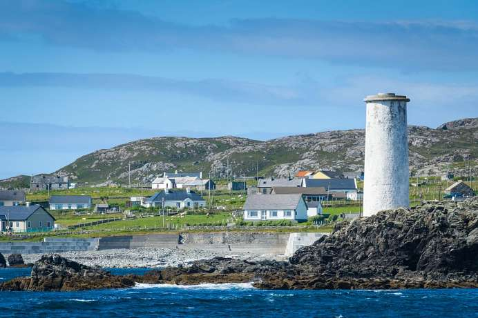 Fischerinsel vor Connermara: Inishbofin