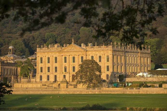 Prunkvolles Landschloss: Chatsworth House