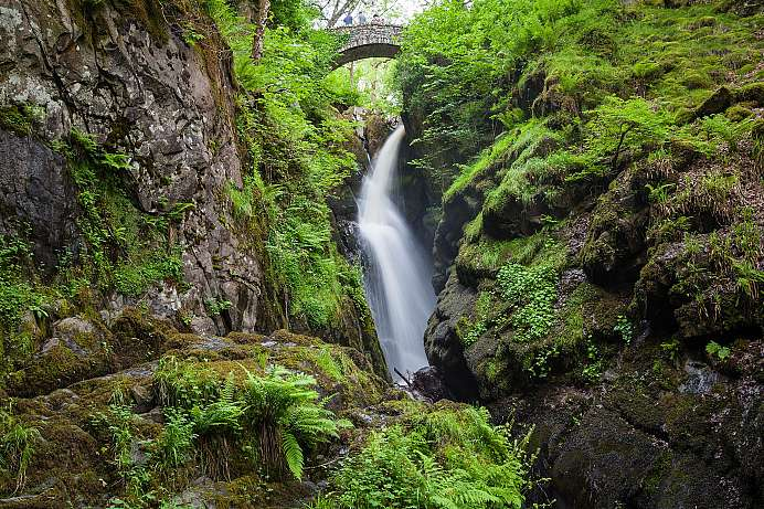 Beliebtes Malermotiv: Aira Force