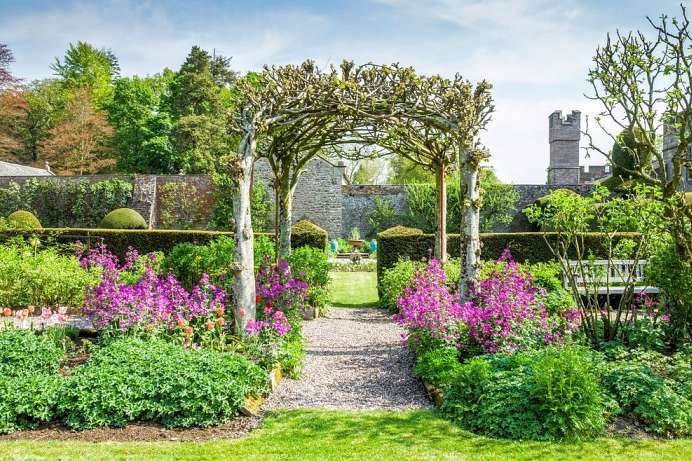 Walled Gardens von Hutton-in-the-Forest