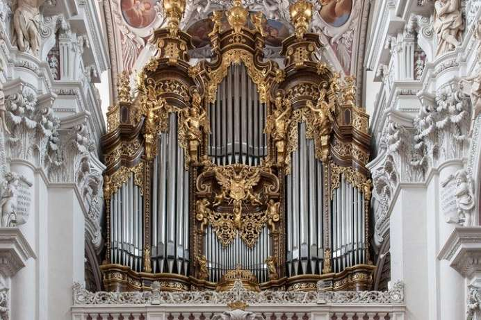 Impressive: Organ in St. Stephan's Cathedral