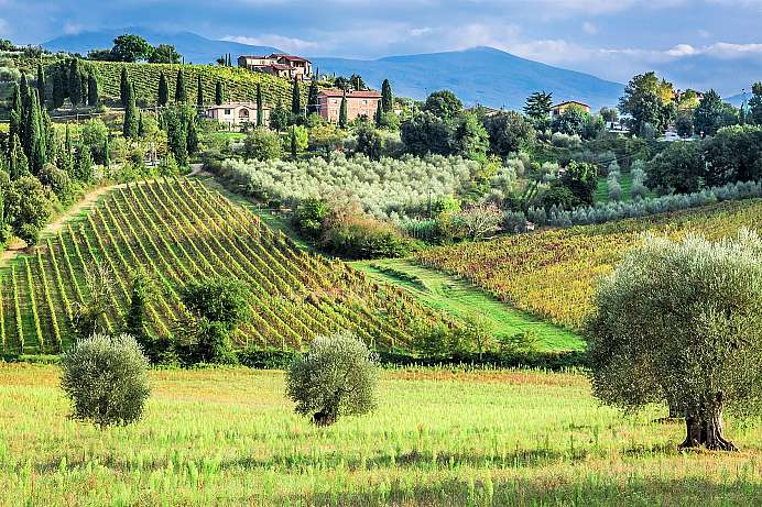 Enchanting landscapes: Tuscany