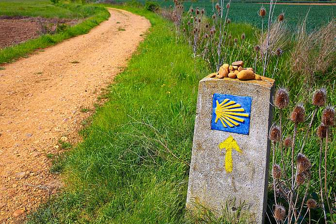 Spiritual walks all over Europe: Way of St. James