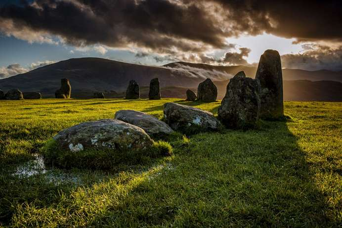 Magical charisma: Stone circle of Castlerigg