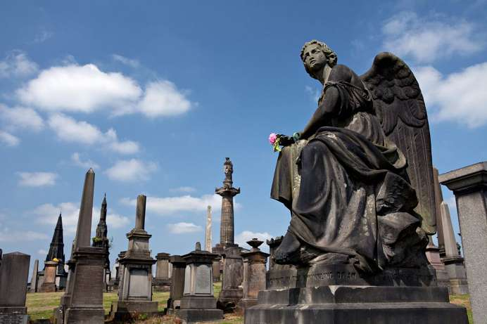 Place for the Living and the Dead: Glasgow Necropolis