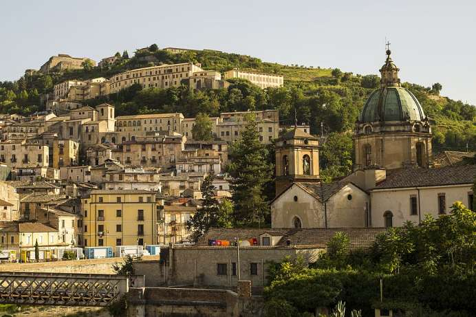 Cultural diversity, beautiful old town: Cosenza