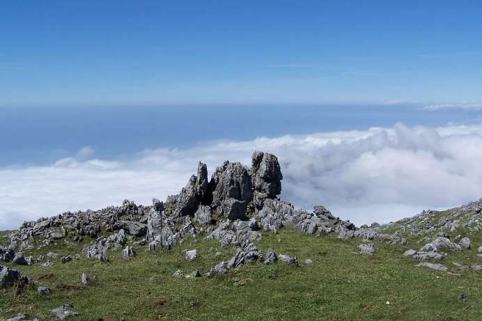 Above the clouds: Monte Cocuzzo