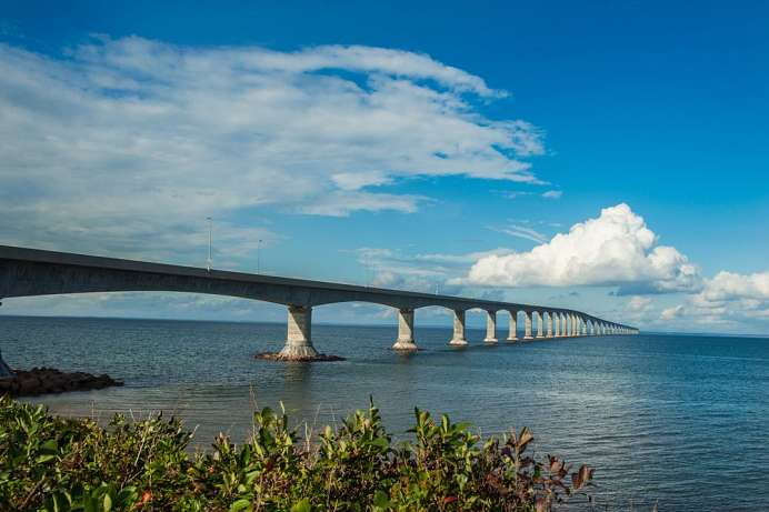 Längste Brücke Kanadas: Confederation Bridge