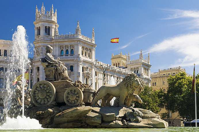 Spain's cultural centre: Madrid