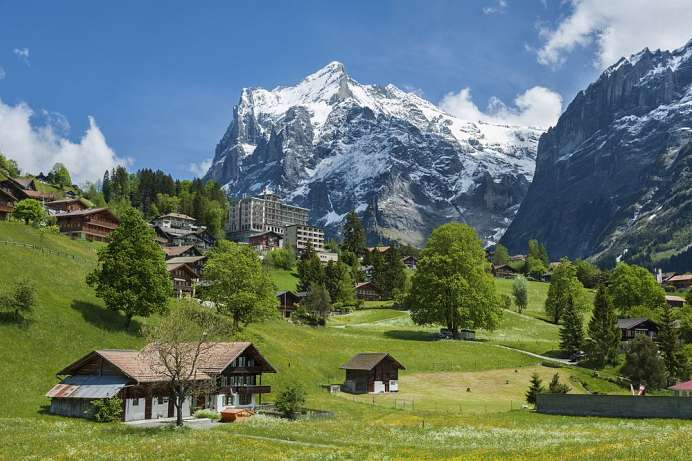 Grindelwald in the Bernese Oberland