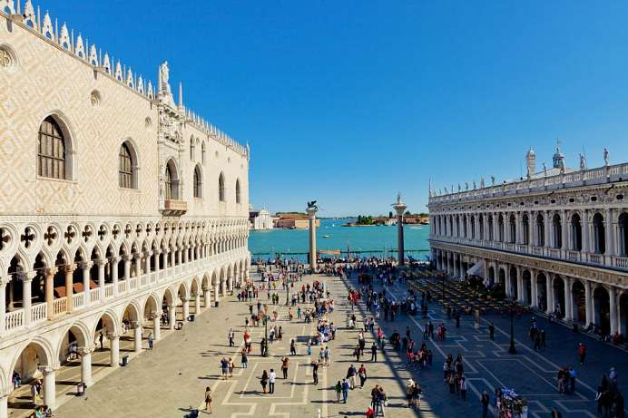 800 years old: Piazza San Marco