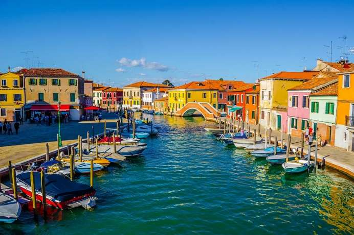 Group of islands near Venice: Murano
