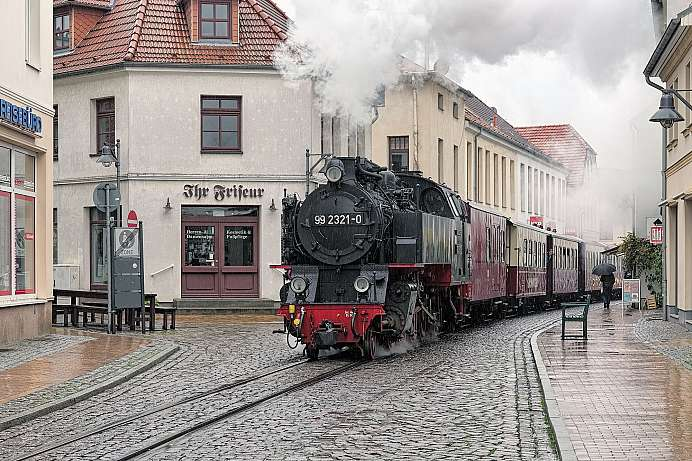 Schmalspurbahn Molli in Bad Doberan