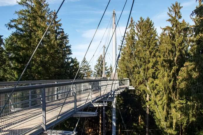 Accessible for wheelchairs and prams: Skywalk Allgäu