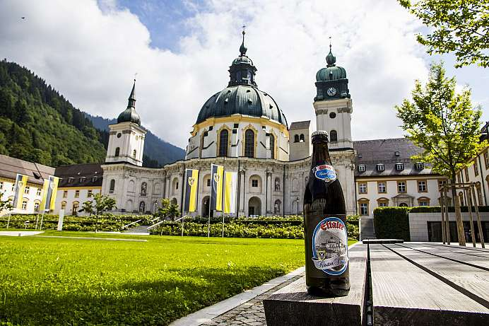 Brewery and Baroque splendour: Kloster Ettal