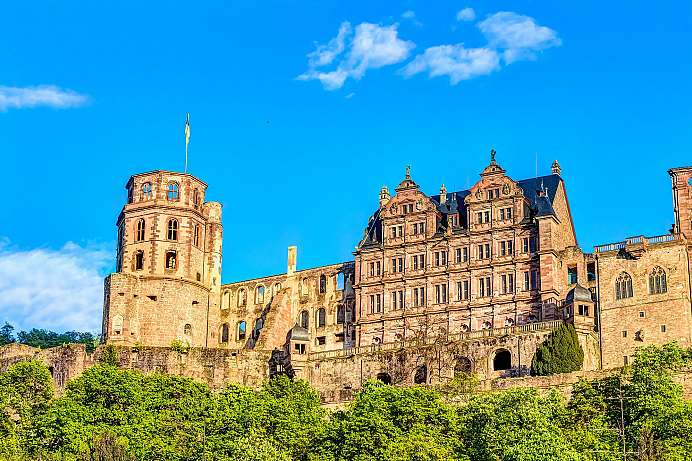 Huge ruin: Heidelberg Castle