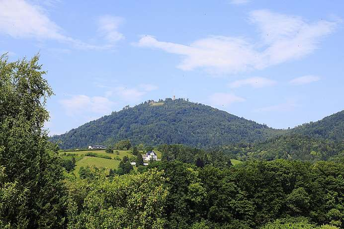 Local mountain of Baden Baden: Merkur