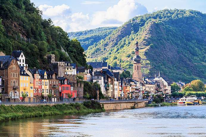 Romanticism on the Moselle: Roman city of Cochem