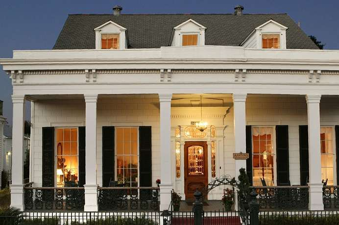 Elegant und stilvoll: Herrenhaus in New Orleans