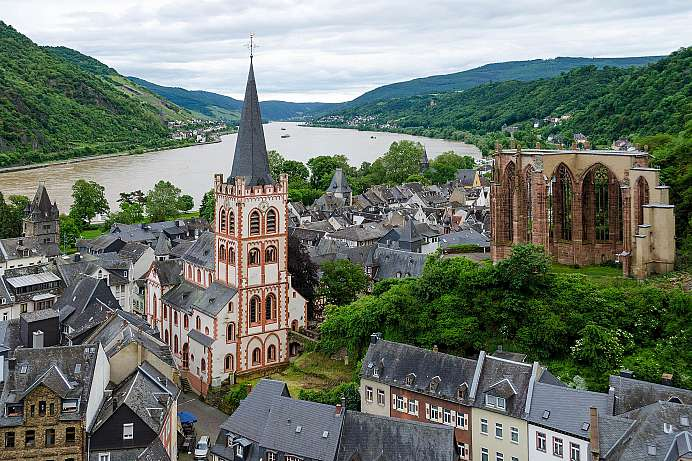 Picture perfect Rhine Romanticism: Bacharach