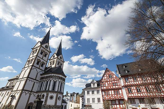 Magnificent in the High Middle Ages: St. Severus in Boppard