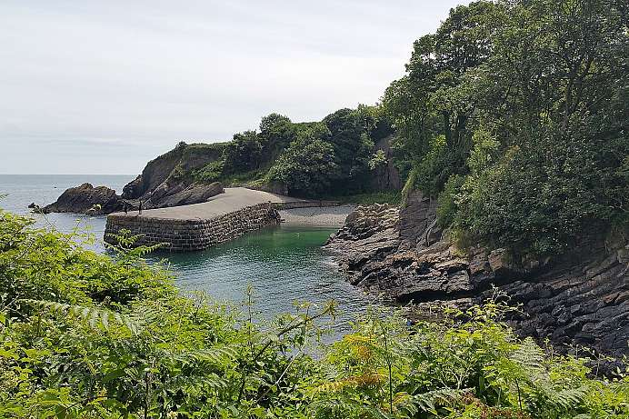Coast Path bei Stackpole
