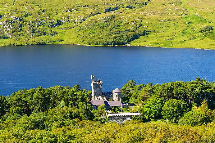 Romantisches Schloss: Glenveagh National Park