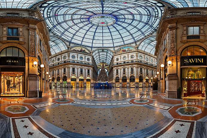 Mailands Shopping-Zone: Galleria Vittorio Emmanuele II