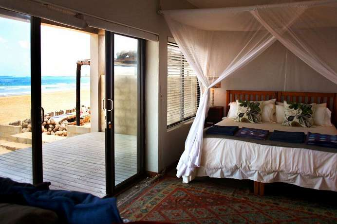 Tolle Lage am Tofo Beach: Corasiida Guesthouse
