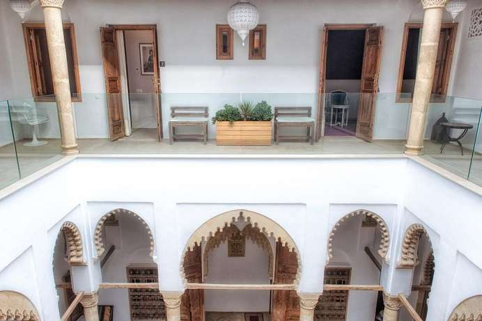 Traditionelles Haus mit Innenhof: Riad in Rabat