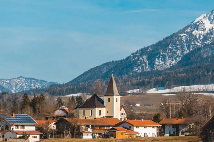 Most popular holiday resort in Chiemgau: Ruhpolding