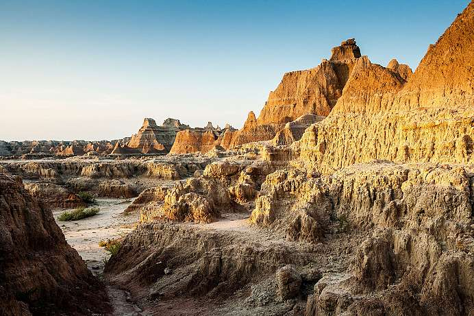 Sonnenaufgang in den Badlands