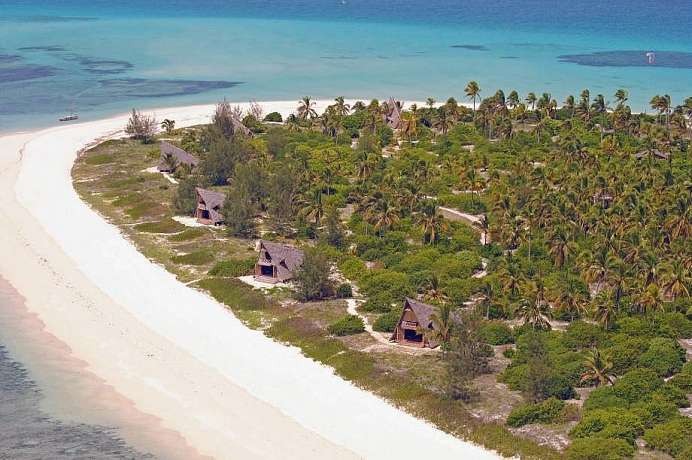 Gut 500 Meter lang: Fanjove Private Island
