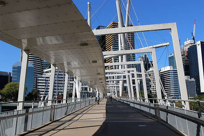 Kurilpa Bridge, Brisbane