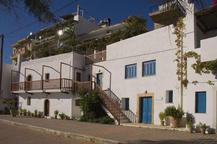 Im traditionellen Weiß: Apartments in Makrigialos