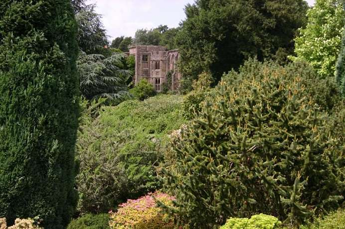In the High Wealds: Nymans Garden