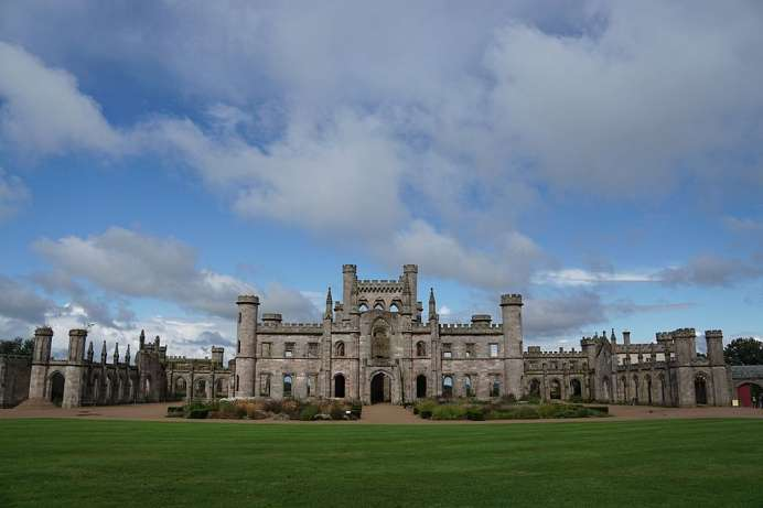 Symbol of transience: Lowther Castle