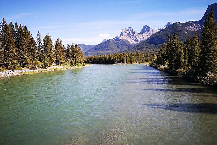Canmore, Rocky Mountains