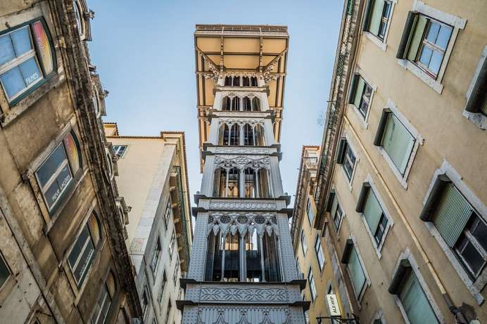 Take the elevator to Baixa Pombalina: Guided tour of the cit