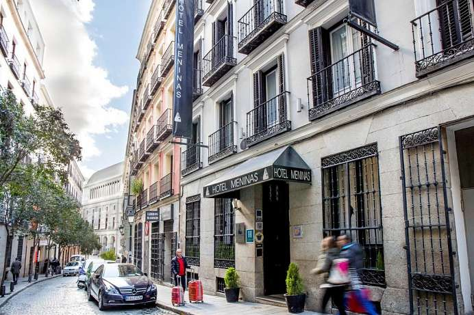 Historical, but modern: Hotel in the centre of Madrid