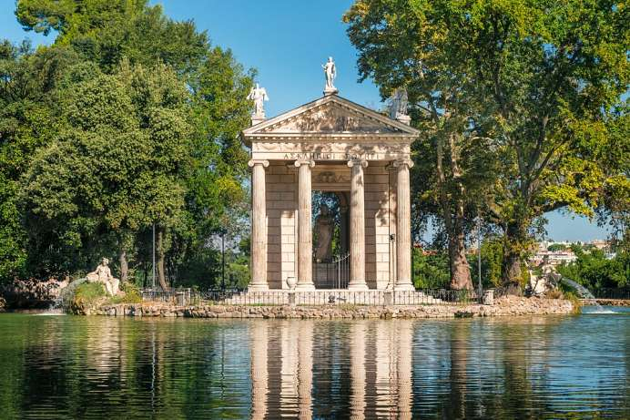 Nice place to relax: Villa Borghese