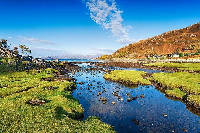 Picture perfect Highlands: Glenuig near Arisaig