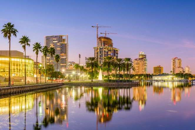 Sunshine City: Saint Petersburg, Florida