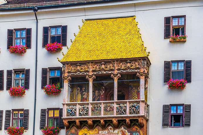 Landmark of Innsbruck: Golden Roof