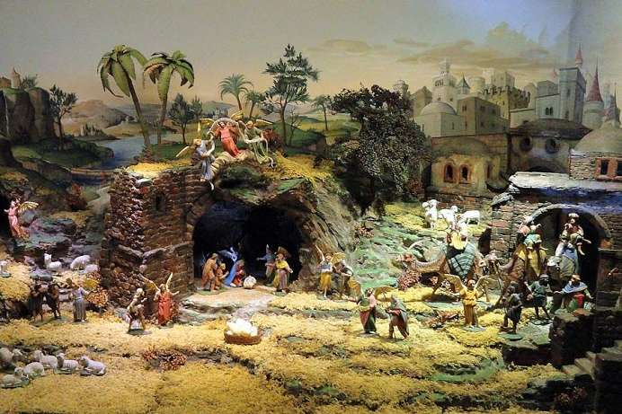 Nativity scene exhibition: Tyrolean Folk Art Museum