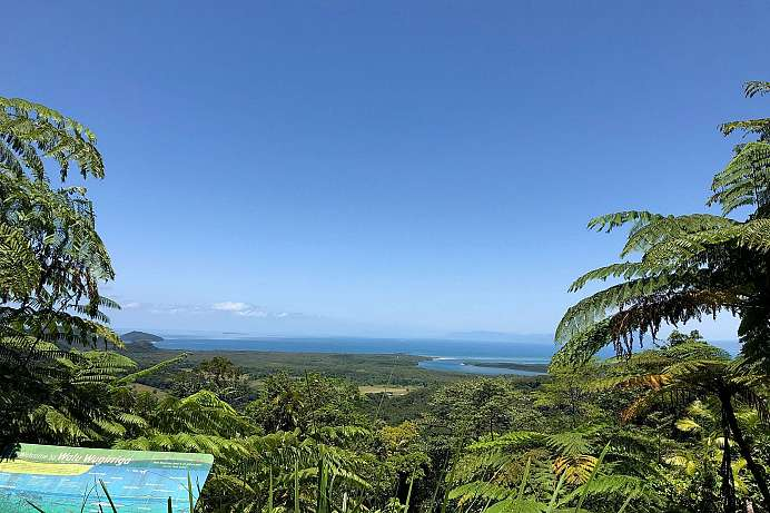 Am Cape Tribulation