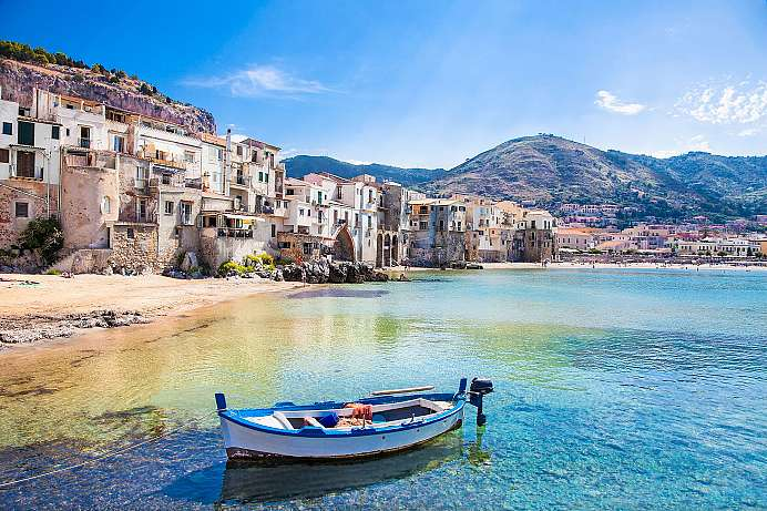 Picture-book fishing village: Cefalù